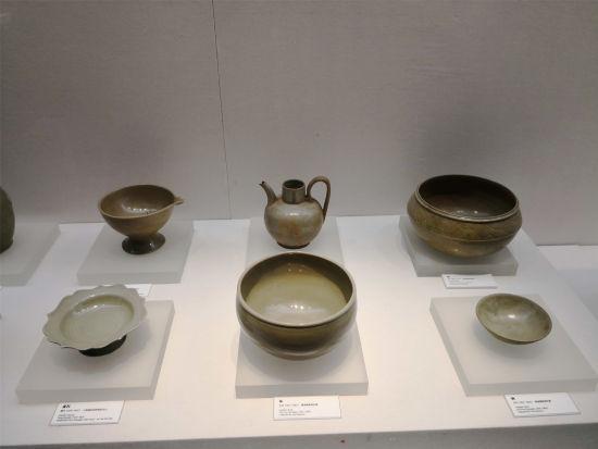 图为:慈溪上林湖越窑博物馆内的文物。 何蒋勇 摄