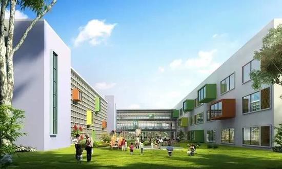镇海最大幼儿园年底启动 初定两套建设方案