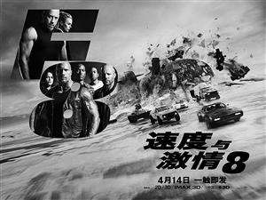 v《速度与激情8》海报