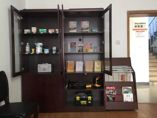 慈城公路服务站休息室