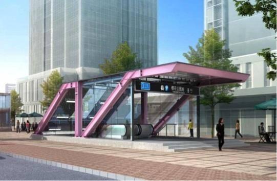 宁波地铁3号线出入口造型启动市民网络投票