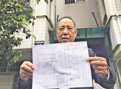 (孔雀社区的居民提出墙门的电梯安装申请)