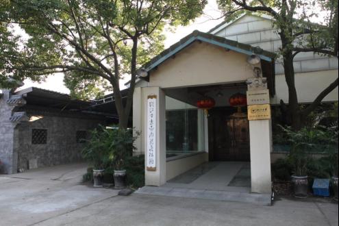 图为越窑秘色瓷博物馆。