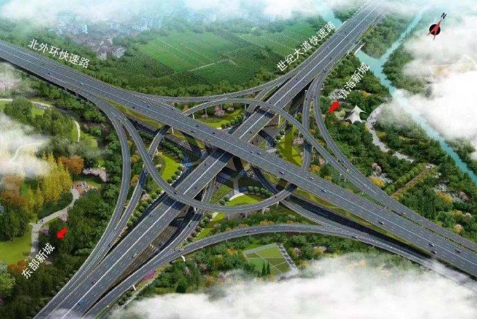 宁波世纪大道快速路东明路至永乐路工程昨起启动建设