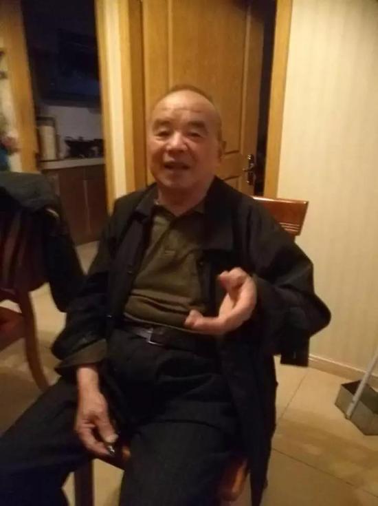 ▲李金法老人
