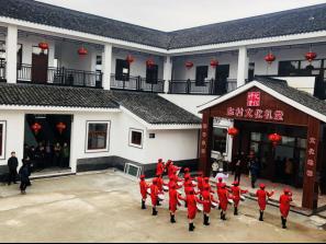 宁波东村文化礼堂落成 古稀长者齐聚孝心宴