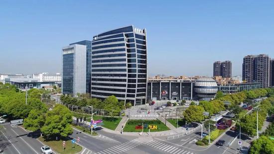 ▲宁波市国家大学科技园区