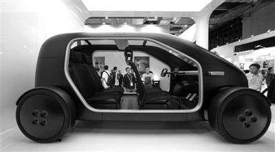新型电动车为人们描绘未来科技生活方式
