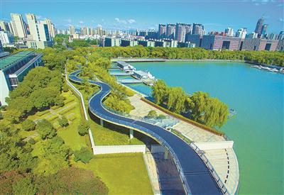 三江六岸核心区滨江绿道