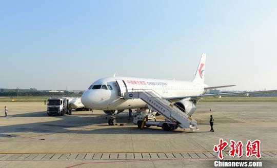 图为机场飞机。宁波机场提供