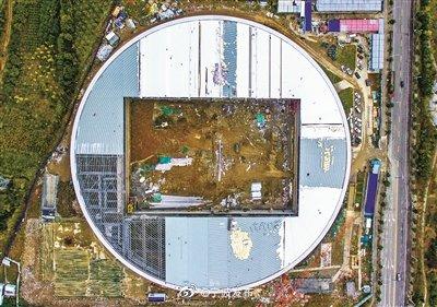 北仑海天文体中心预计年底竣工 该项目建设达3.6亿元