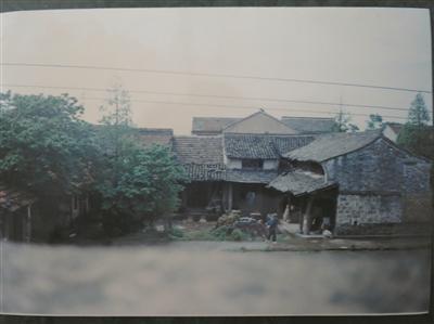拆迁前的金家漕村