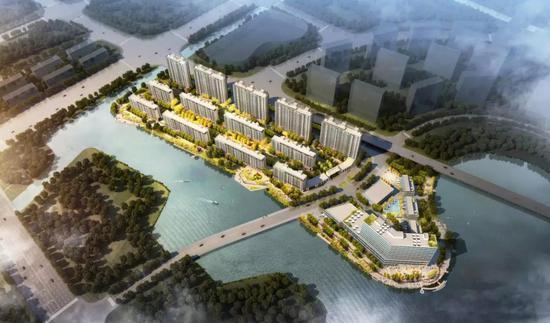 镇海新城南区同心路地块西北地块项目