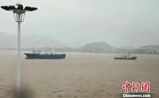 图为:事发水域 台州海事局供图 摄