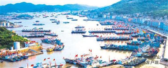 象山是海洋与渔业大县,被列入全国渔业五强县。