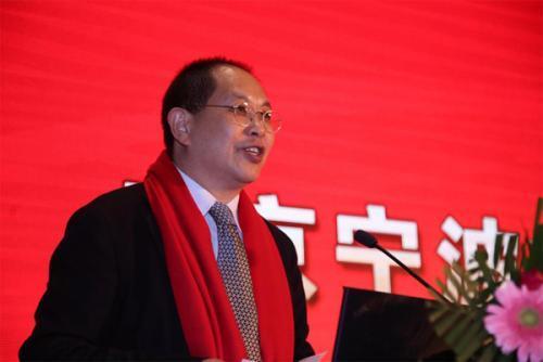 北京宁波企业商会会长吴国迪致辞