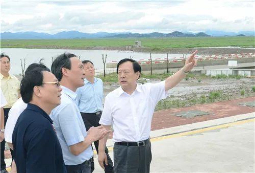 ■2015年7月,时任省委副书记、省长李强考察宁波南部滨海新区。