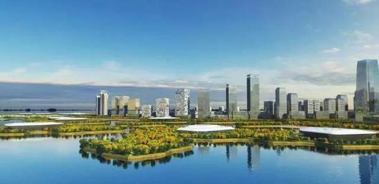 ▲宁波航天科技小镇