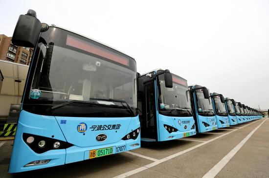 宁波公交集团新辟微18公交线路 线路里程约11.2公里