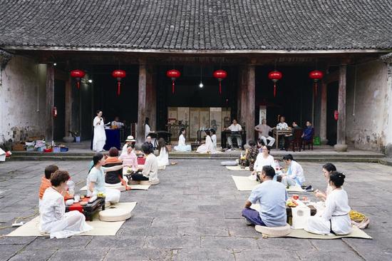 象山西周镇举办重阳节九九茶会 洋溢浓浓敬老之情