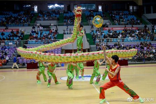浙江公布首批舞龙舞狮传承教学基地 宁波5所学校上榜