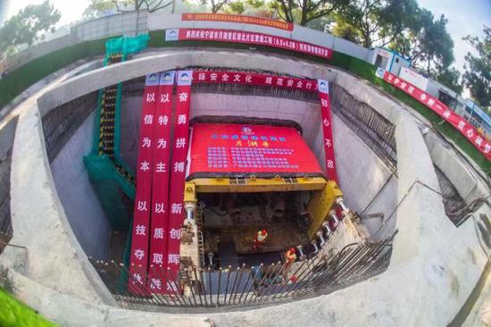 宁波月湖南北片区贯通工程启动 采用地下通道施工