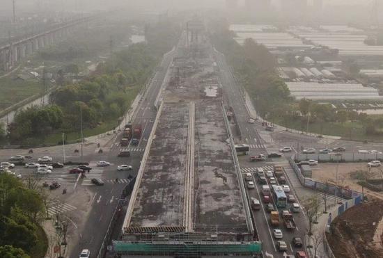 宁波福庆南路工程项目创了个全国第一 省下1000万元