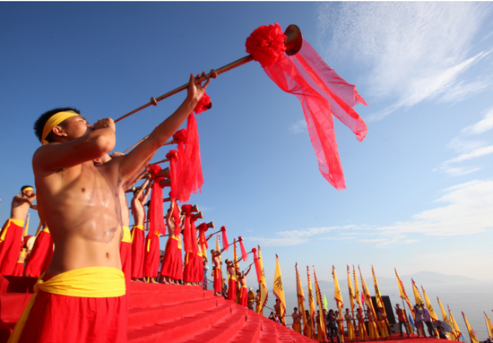 感受东海神秘海祭文化 中国象山开渔节喊你来祭海
