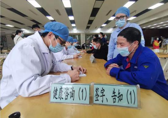 象山提供新冠疫苗接种送上门服务 助力企业安心生产