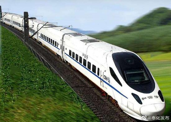 奉化至上海虹桥的始发列车16日开通 全程2小时14分