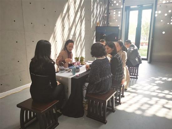奉化茶文化展在奉化博物馆开展 文化展将持续3个月