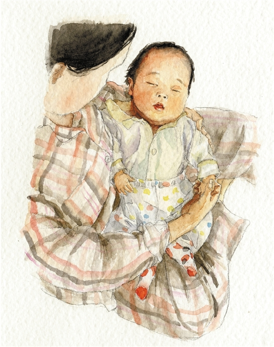 宁波一妈妈手绘儿子点滴 打算坚持18年