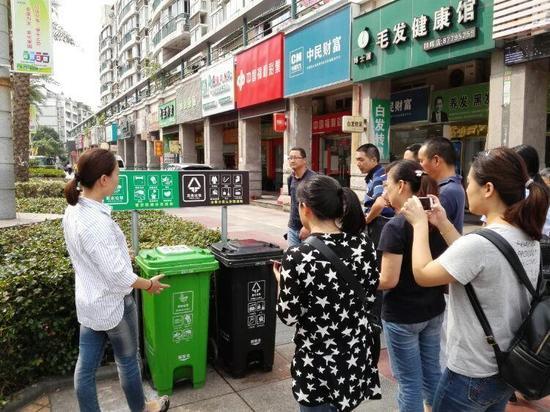 为避免混收混运宁波已有510个小区参与垃圾分类