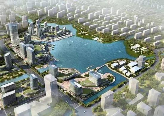 未来宁波东部将出现一个明湖 周边区域全揭秘