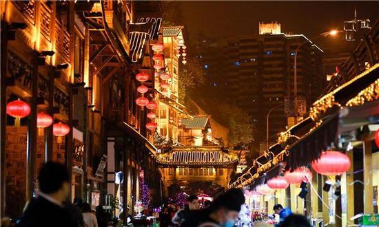 宁波女孩五天四夜拍摄重庆美景