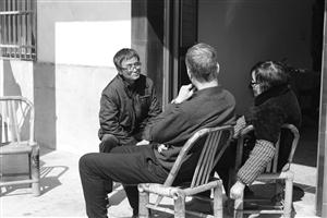 时隔多年后姐弟三人在慈溪再相见 通讯员供图