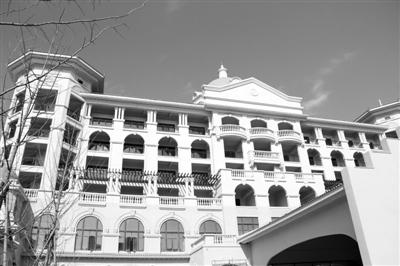 即将正式迎客的宁波工人疗养院一角。记者滕华摄