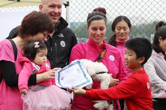 参加完比赛的选手可获得证书