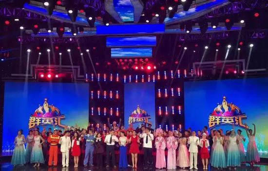 宁波百余名草根演员在北京录节目