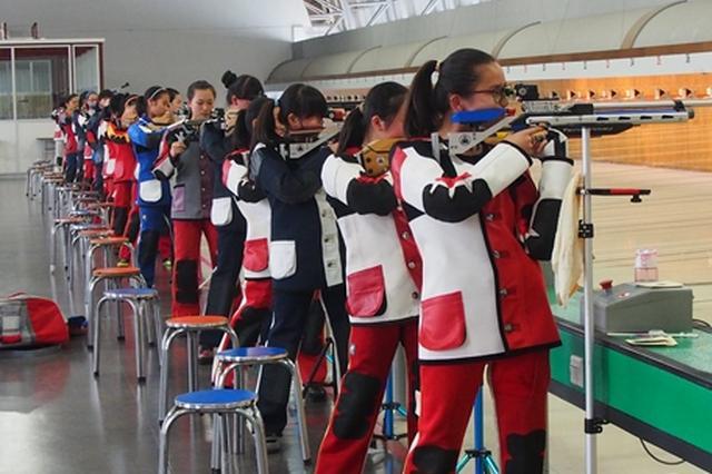 浙江获女子10米气步枪团体冠军 宁波选手张巧颖立功
