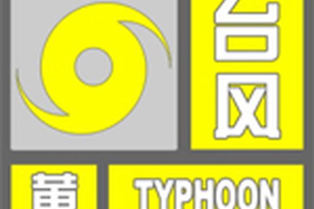 宁波台风升级为黄色预警今夜到明天中到大雨局部暴雨