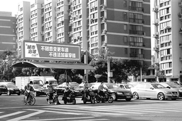 宁波非机动车道遮阳雨棚系国内首创 目前已装600多个