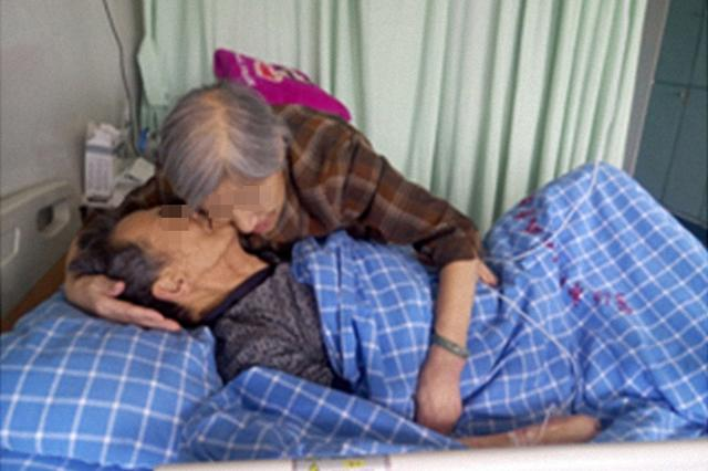 宁波84岁老太执意留院 日夜陪护同病房患癌老伴