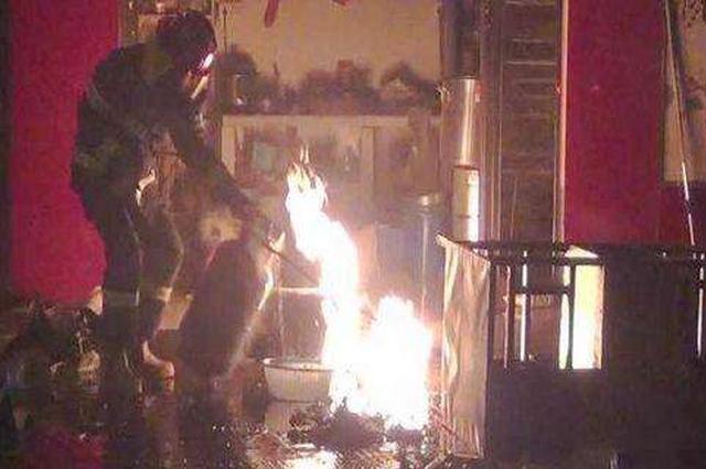 餐馆煤气瓶爆燃引发大火 慈溪一店老板被拘留5天