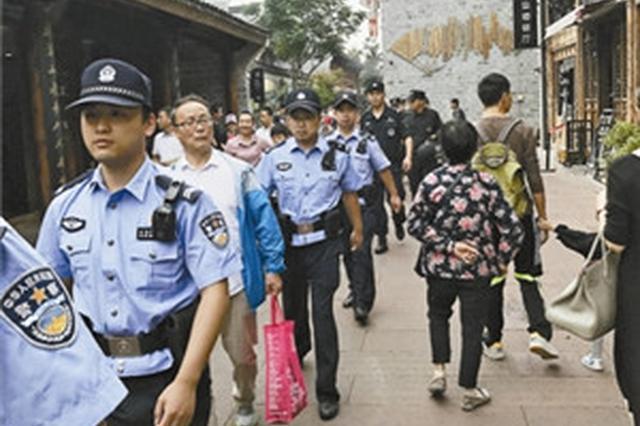 国庆期间宁波治安情况良好平稳有序 民警坚守岗位