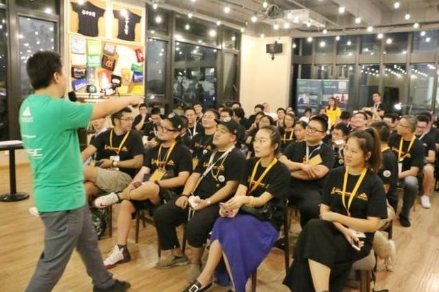 宁波海峡两岸青年创业基地开展创业秀