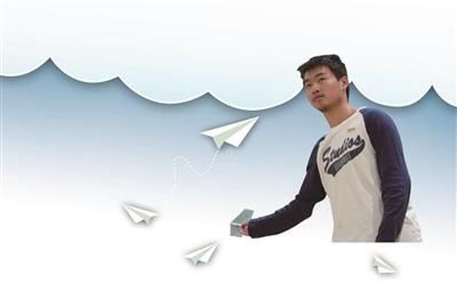 甬高一男孩夺全国纸飞机比赛第一:留空时间为13.8秒