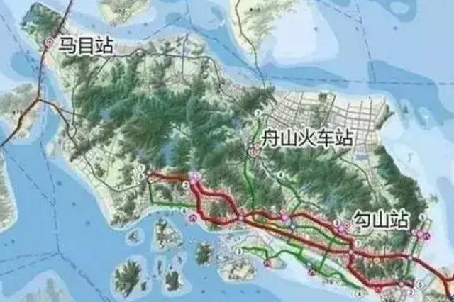 甬舟铁路出新动向 未来宁波到舟山只要半小时