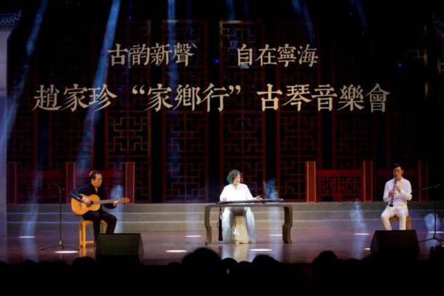 泠泠七弦问乡音 著名古琴演奏家回乡开音乐会