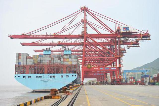 1至4月宁波口岸进出口额超4千亿 进口出口增幅超10%